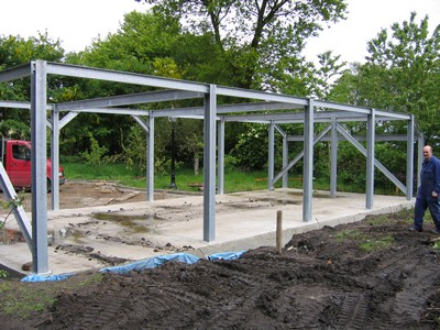 Structural steel fabrication in Southport